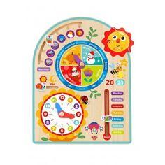 Môj Kalendár - učíme sa dni mesiace ročné obdobia a hodiny