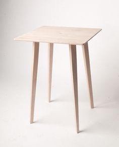 Maple table by Wonmin Park Studio
