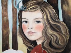 custom portrait romanticized from your by PrintIllustrations, $250.00