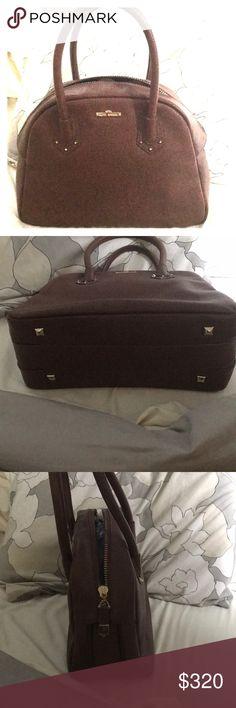 Henri Bendel Brown Henri Bendel medium bowler bag in great condition used on two occasions henri bendel Bags