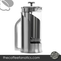 ERGONOMIC, EASY-POUR DESIGN - Lafeeca coffee press unique patented design features a smart-grip handle that provides you more control over handling the big carafe to create it easier to pour without causing spills or messes. ADVANCED DOUBLE FILTRATION - This portable kitchen appliance features dual stainless-steel screen filters that help strain settlings or loose-leaf tea to produce you a smoother, more delicious taste freed from debris. Best French Press Coffee, Stainless Steel Screen, Loose Leaf Tea, Appliance, Carafe, Filters, Handle, Good Things, Big