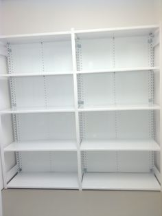 Designer White Shelving Spring St NYC 10012. Steel shelving in 30 standard, brilliant colors. available in most widths, depths and heights. 650lb capacity per shelf. Free on site layouts. P(732)489-3867. Designer steel shelving Spring St NYC 10012