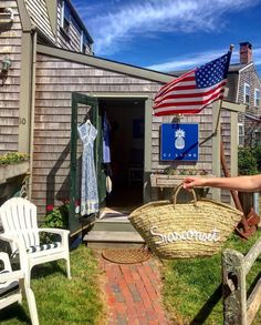 Nantucket is my fav word in the 🌎 & Siasconset is a close second! Nantucket Island, Outdoor Decor, Home Decor, Decoration Home, Room Decor, Home Interior Design, Home Decoration, Interior Design