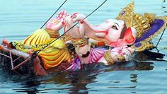 Lake near Indira Park for Ganesh idol immersion Read complete story click here http://www.thehansindia.com/posts/index/2015-03-25/Lake-near-Indira-Park-for-Ganesh-idol-immersion-139725