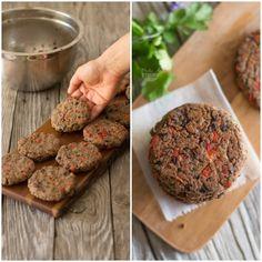 Hambúrgueres de feijão preto - Made by Choices