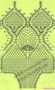 Crochet Swim Suits and Cover Ups 2011 - diamondinapril - Álbuns da web do Picasa Motif Bikini Crochet, Bikinis Crochet, Beach Crochet, Crochet Bra, Crochet Diagram, Crochet Woman, Crochet Chart, Crochet Clothes, Crochet Stitches