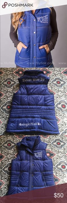 Cowgirl Tuff puffer vest  Brand new, never worn just no tags. Cowgirl tuff puffer vest. EXCELLENT condition!!! Cowgirl Tuff  Jackets & Coats Vests