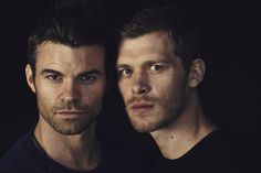 "Daniel Gillies & Joseph Morgan redefine ""heat"" at WBTV's Comic-Con® 2014 cocktail media mixer. #CWSDCC #TheOriginals"