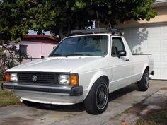 Volkswagen Rabbit pickup Volkswagen, Vw Mk1, Vw Caddy Mk1, Vw Pickup, Vw Group, Golf 1, Mini Trucks, My Ride, Pick Up