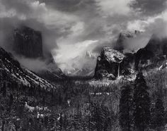 Every lick of foam; every droplet of spray frozen in mid-air; and the lone tree shrouded in mist high on the mountaintop above cascading waterfalls: the love affair of iconic landscape photographer Ansel Adams with water and its transformative power is revealed for the first time in a new exhibition in London.