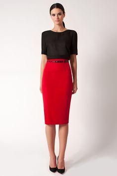 High Waist Pencil Skirt *Online Exclusive*