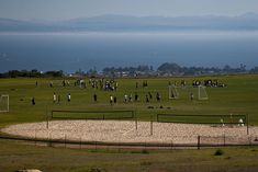 Most amazing soccer field I've ever played on UCSC