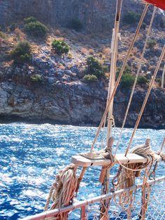 Sailing Turkish seas...