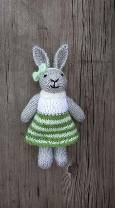 Stuffed bunny for Easter. Etsy listing at https://www.etsy.com/ca/listing/496905598/baby-girl-nursery-decor-children-gift