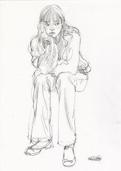 Figure Sketching, Figure Drawing, Pretty Art, Cute Art, Character Art, Character Design, Arte Sketchbook, Sketchbook Ideas, Illustration Art