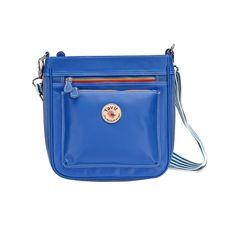 กระเป๋าสะพายข้าง InTime สีน้ำเงิน