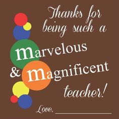2015 Primary Teacher Newsletters and Appreciation Gift Ideas