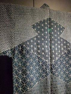 Lumberman's Sashiko Japan Edo Period 1780 indigo dyed hemp and cotton 2 | by mharrsch