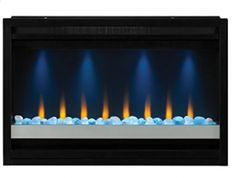 ClassicFlame Contemporary Built-in Electric Fireplace Insert Fireplace Update, Small Fireplace, Faux Fireplace, Fireplace Inserts, Electric Fireplace Reviews, Built In Electric Fireplace, Electric Fireplaces, Limestone Fireplace, Buyers Guide