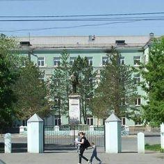 Орск. Школа /8 по проспекту Ленина.