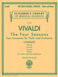 The Four Seasons, Complete (Violin & Piano Reduction)