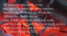 Happy Book Birthday, TILT. Quote of the Day is from my baby, TILT.
