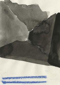 Ronald Noornan in Main d'oeuvre | Ronald Noorman, z.t., 22 x 15 cm, houtskool, gouache, 2014, Courtesy Kristof de Clercq gallery
