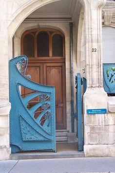 Art Nouveau Gate, Brussels