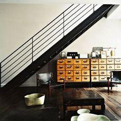 Escalier industriel on pinterest france vintage and design - Escalier metal industriel ...
