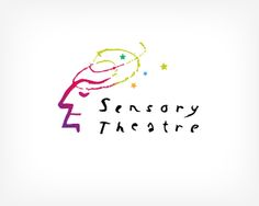 Sensory Theatre Logo design - The Sensory Theatre logo is suitable for any alternative theater events, drama clubs or performances.We can see a playful hand drawn face who uses its sesnes. The hand drawn typography also deepens the alternative and loose feeling. The logo is very fresh and colorful.Small changes like your brand name or color customization are included in the price. ntomy © Price $395.00