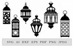 Room Lights Decor, Lanterns Decor, Decor Room, Ramadan Lantern, Eid Cards, Jewelry Design Drawing, Ramadan Decorations, Printing Labels, Handmade Art