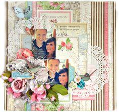 Celebrate *Flying Unicorn CT* - Graphic 45 - Botanical Tea Collection