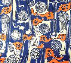 """RARE and Vintage Lilly Pulitzer 88"""" x 44"""" Fabric """" Par by Zuzek"""" Print - MINT #LillyPulitzer"""