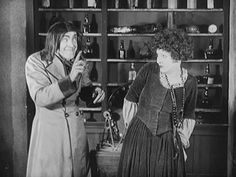 Stan Laurel and Julie Leonard in the final scene of Dr. Pyckle And Mr. Pride (1925)
