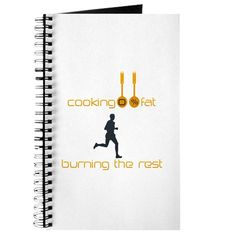 Chef Cook Jogger Diet Journal $9.99, buy now!