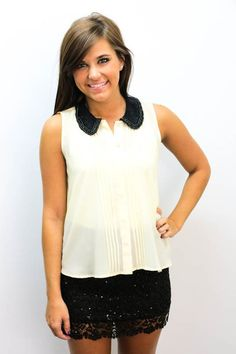 Love this top $28 and the skirt is so cute!! www.macaclothe.com