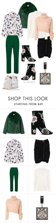 """Choose your version"" by aakiegera ❤ liked on Polyvore featuring Rebecca Minkoff, Equipment, Veronica Beard, Marni, Warehouse, Ann Demeulemeester, Tory Burch and Betsey Johnson"