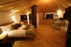 Yurt Living! Looks very cool!