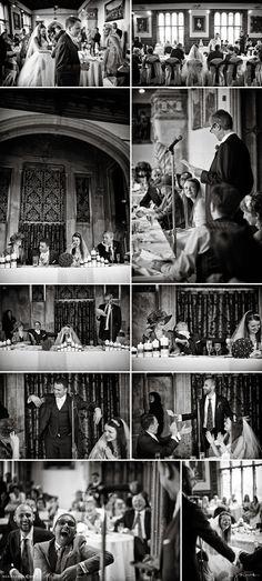 Black and white documentary wedding photography via nealejames.com
