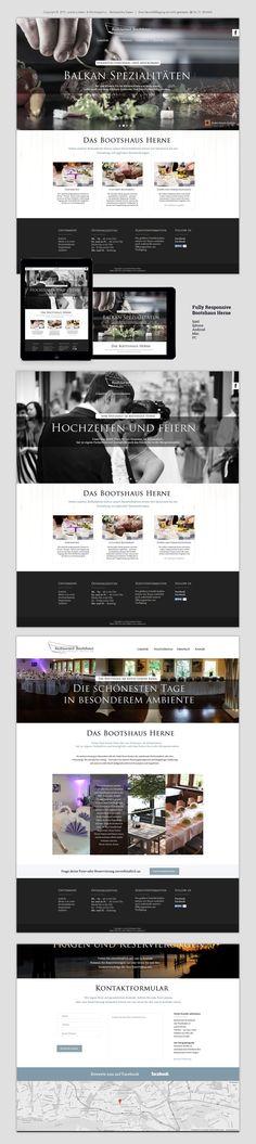 Neue Website für das Bootshaus in Herne  #website #Restaurant #Herne #Webdesign #gastronomie #recklinghausen #gastrowerbung  Aussenwirkung mit Geschmack www.gastro-werbung.eu www.gastro-werbung.eu