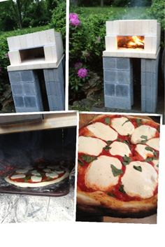 Easy DIY Brick Pizza Oven