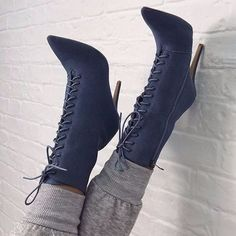 Denim Over the Knee Boots Peep Toe Pumps Woman Thigh Knee High heel Boots Shoes Plus Size - Winter Boots - Ideas of Winter Boots - Pointed Fashion Sexy Cross Strap High Boots Winter Boots High Heel Boots, Heeled Boots, Bootie Boots, Ankle Boots, High Heels, Shoes Heels, Boot Heels, Shoe Wedges, Women's Shoes
