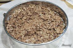 Sernik Bounty z polewą z białej czekolady - Stonerchef Oatmeal, Sugar, Breakfast, Diet, The Oatmeal, Morning Coffee, Rolled Oats, Morning Breakfast, Overnight Oatmeal