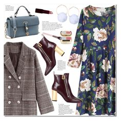 """""""Flower Dress"""" by duma-duma ❤ liked on Polyvore featuring Dolce&Gabbana, Luxie and Rimmel"""