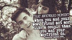 Very,very awkward.....