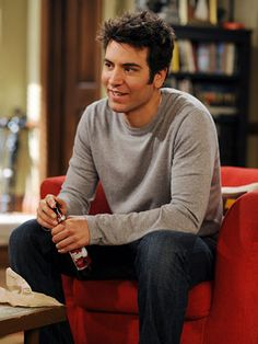 Josh Radnor - Ted-Mosby - How I met your mother Ted Mosby, Josh Radnor, How Met Your Mother, Seeley Booth, Netflix, Handsome Actors, I Meet You, Series Movies, Man Crush