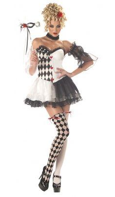 Costume La Belle Arlequin