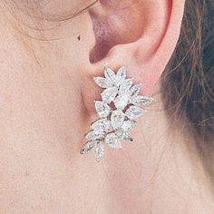 Hattie Statement Crystal Wedding Earrings