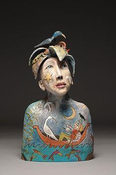 """Su Griggs Allen, """"Tropical Dreamer"""" Sculpture Exhibitor #artisphere2016"""