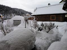 Wellnes domček v Oščadnici Snow, Outdoor, Outdoors, Outdoor Games, The Great Outdoors, Eyes, Let It Snow